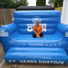 inflatable sofa Rostock