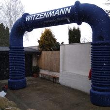Witzemann inflatable arch