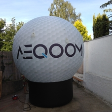 Inflatable golf ball AEQOOM