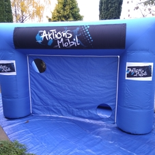 Inflatable goal Actions mobile