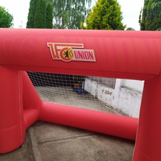 Inflatable goal Union Berlin