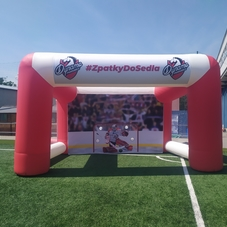 Inflatable hockey goal Dynamo Pardubice