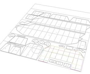 Herstellung von Papierschablonen