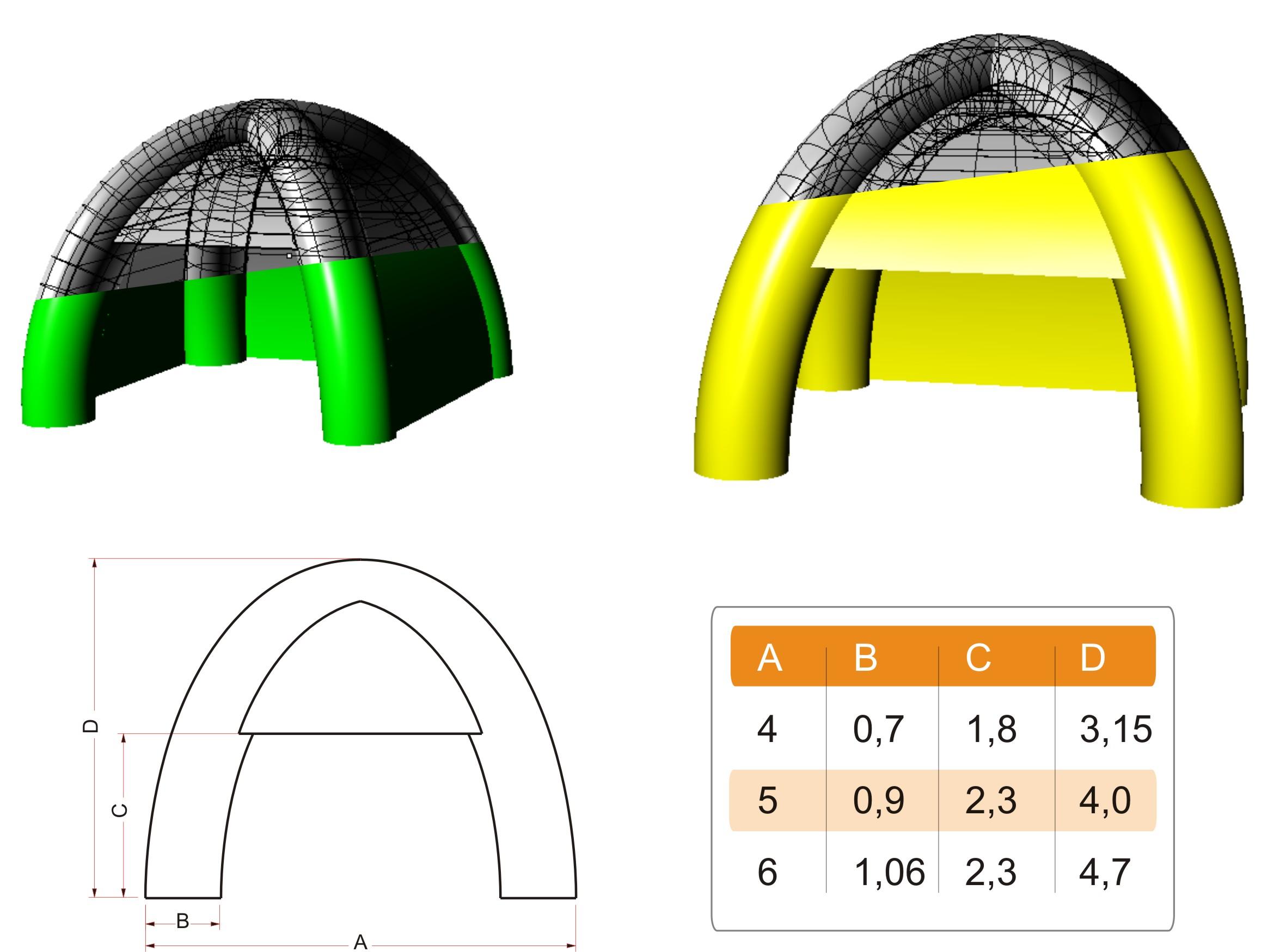Four-legged tent  sc 1 st  Tents | AIR SHAPE & Tents | AIR SHAPE