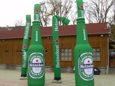 Skydancers Heineken