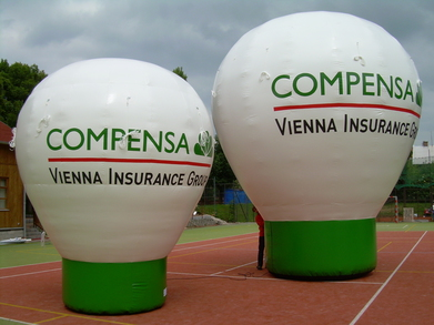 Inflatable balloon Compensa