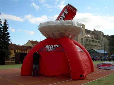 Inflatable tent KOFF
