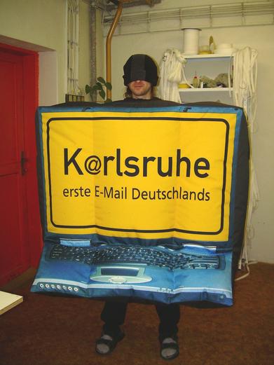 Inflatable costume Karlsruhe