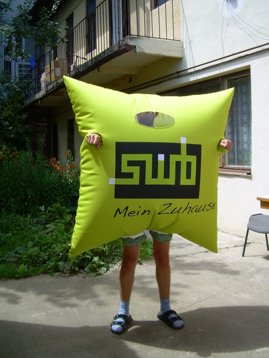 Inflatable costume SWB