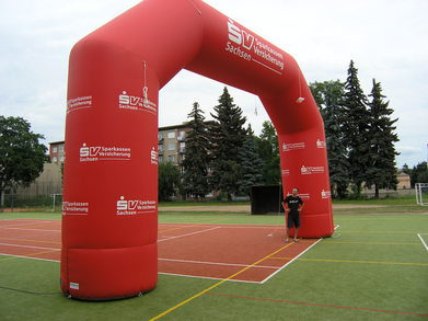 Inflatable Arch Sparkassen