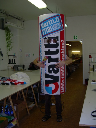 inflatable costume Vartti