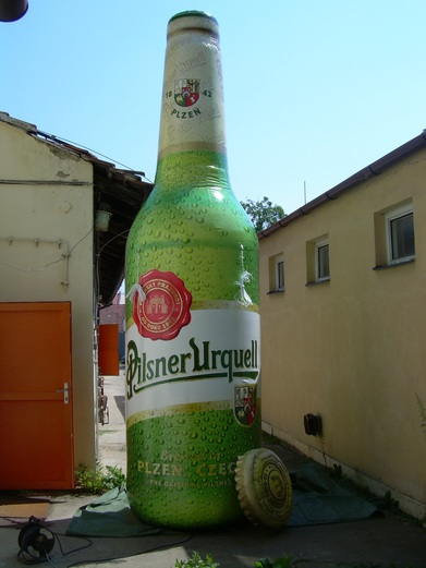 Inflatable bottle Pilsner Urquell